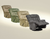 Teddy Bear Swivel Recliner