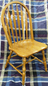 Solid American Red Oak Dining Chair