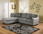 Zella-Charcoal Sectional