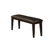 Dark Chocolate Backless Bench