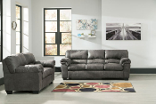 Bladen-Slate Sofa and Loveseat