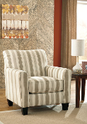 Laryn-Khaki Accent Chair
