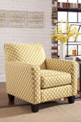 Brindon-Yellow Accent Chair