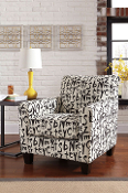 Brindon-Raven Accent Chair