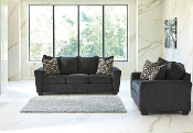Wixon-Slate Sofa and Loveseat