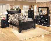 Shay-Queen 5 Piece Bedroom Set