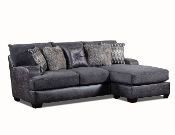Gray Sofa Chaise