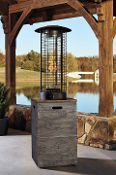 Hatchlands Brown/Grey Patio Heater