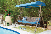 Partanna Outdoor Swing with Cushion