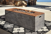 Hatchlands Rectangular Fire Pit Table