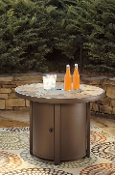 Predmore Round Fire Pit Table