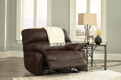 Zavier Truffle Wide Seat Stationary Recliner