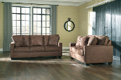 Terrington-Harness Sofa and Loveseat