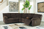 Hopkinton-Chocolate Reclining Sectional