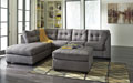 Maier-Charcoal 2 piece Sectional