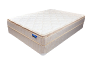 Broyton Euro Top Full Mattress Set