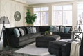Charenton-Charcoal Sofa and Loveseat