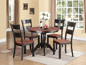 42 Inch Round Dining Table With Two Chairs