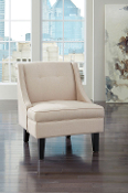 Clarinda-Cream Accent Chair
