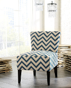 Ravity-Blue Accent Chair