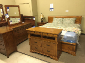 Nicolet-Pine Three Piece Bedroom