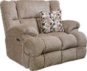 Brice-Chateau Power Recliner with Adjustable Headrest