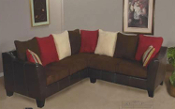 Royal Chocolate Sectional