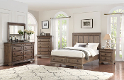Verona 7 Piece Queen Panel Bedroom