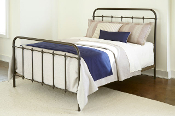 Jordan Creek Queen Metal Bed