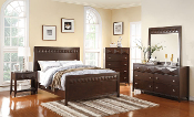 Brownstone Seven Piece Queen Bedroom Set