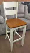 30 Inch Barstool with Back
