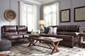 Glengary Leather Sofa and Loveseat