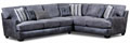 2 Piece Gray Sectional