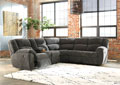 Timpson-Slate Reclining Sectional
