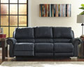 Millhaven-Navy Power Reclining Sofa
