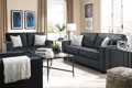 Altari-Slate Sofa and Loveseat