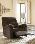Gosnell-Chocolate Rocker Recliner