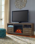 Frantin 63 Inch TV Stand With Fireplace