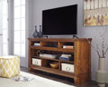 Ralene XL TV Stand with Fireplace and Audio Option